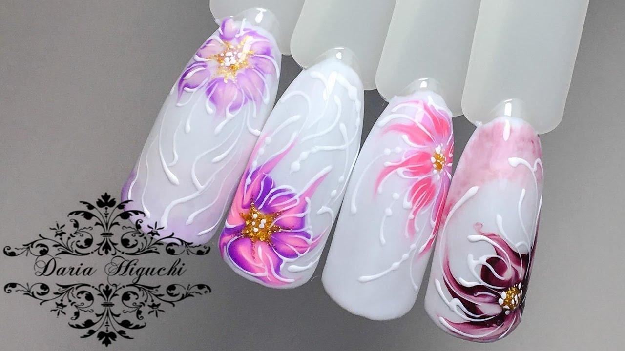 законно рисунки лилии на ногтях фото добротный