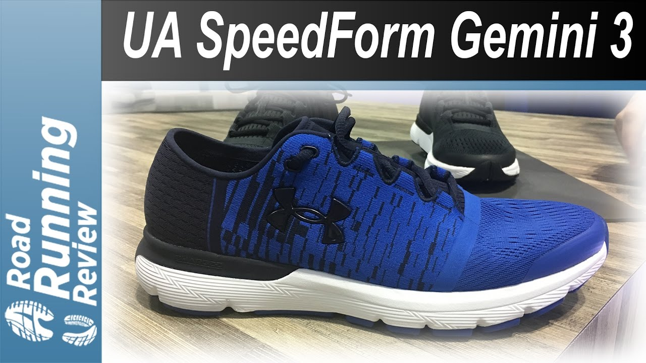 pretty nice aec6c c3ab8 Under Armour SpeedForm Gemini 3 Preview