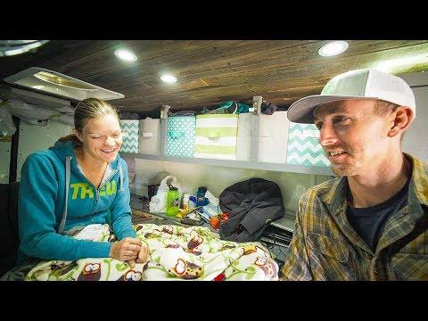 Living in a Camper Van and Being Sick Sucks... - #Vanlife | Adventure in a Backpack