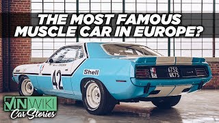 The epic barn find of the French Racing Hemi Cuda