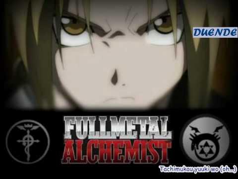 Karaoke 4to opening Fullmetal Alchemist Shintetsu (Period) sin voz