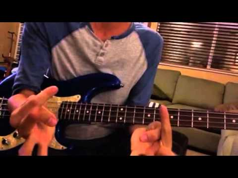 Mike Bass Lesson -Southern Cross Chorus Fill-