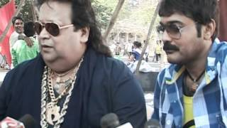 Bollywood World - Bengali Superstar Prosenjit Teams Up With Bappi Lahiri For Music Video - Latest Bo