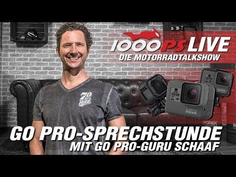 How to: GoPro am Motorrad mit Schaaf