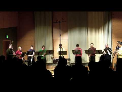 Eleven by Jonathan Russell - clarinet ensemble