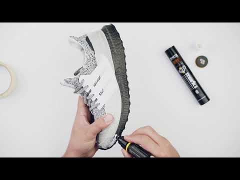 Turning Black Ultraboost White - Crep Protect Mark On