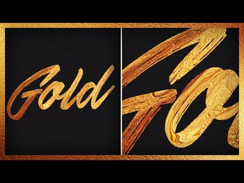 Create A Gold Paint Effect With GIMP   Tutorial