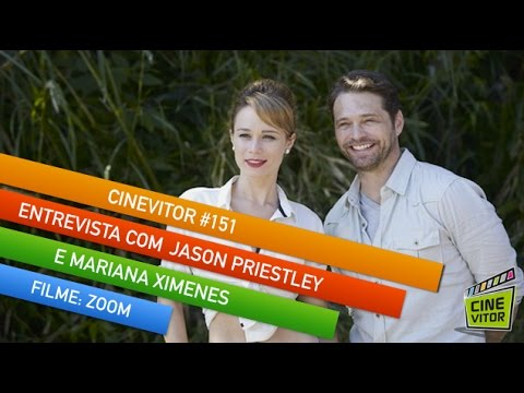 CINEVITOR - Programa 151: ENTREVISTA COM JASON PRIESTLEY E MARIANA XIMENES | ZOOM