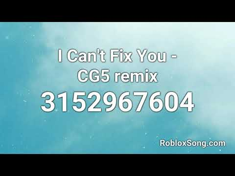 Roblox Music Id Codes Fnf Sing I Can T Fix You Cg5 Remix Roblox Id Roblox Music Code Youtube