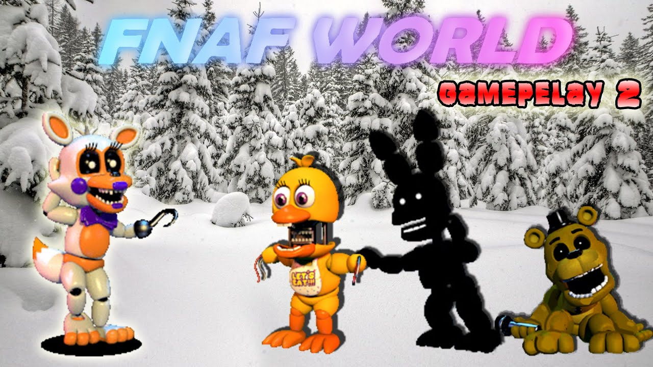 MILIONI DI CHALLENGERS - Fnaf world gameplay parte 2