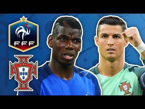 Portugal 1-0 France   Euro 2016 Finalists #EYNTK