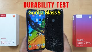 Redmi Note 7 Pro vs Redmi Note 7 DURABILITY Test | Gupta Information Systems | Hindi