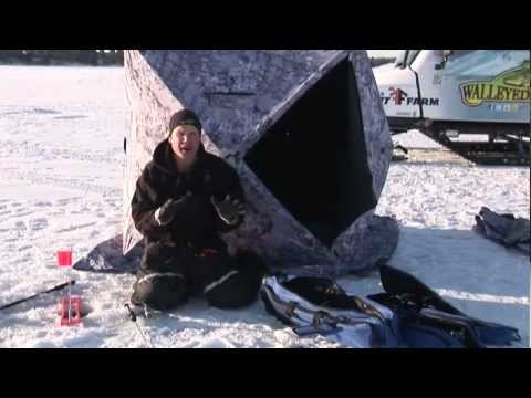 Ice fishing gear from mills fleet farm youtube for Fleet farm ice fishing