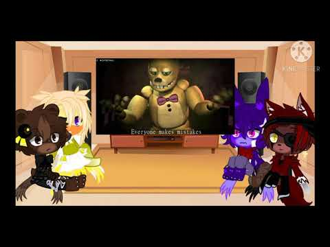 """FNaF 1 (+Me) react to: """"Epoch"""" - by Enforma *New intro*"""