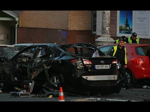Car Explosion in Central Kyiv, Story Developing