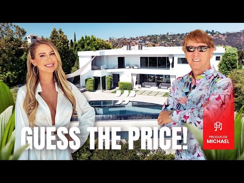 INSIDE AN INCREDIBLE BEL AIR MODERN MANSION - YOU'LL NEVER GUESS THE PRICE!