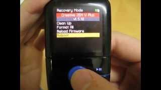 Recover Creative Zen V Plus 4GB MP3 player