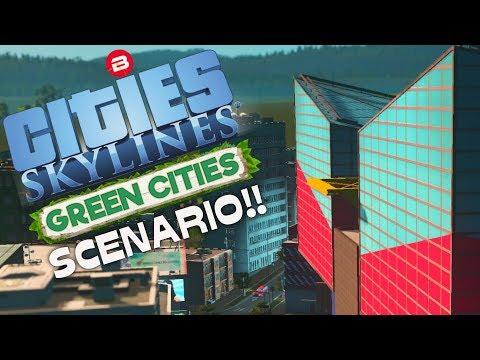 Cities: Skylines Scenario ▶BAY SIDE BEAUTY◀ Green Cities DLC Scenario Clean Up Crew Part 6