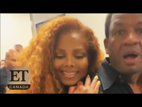 Janet Jackson Surprises A Dad