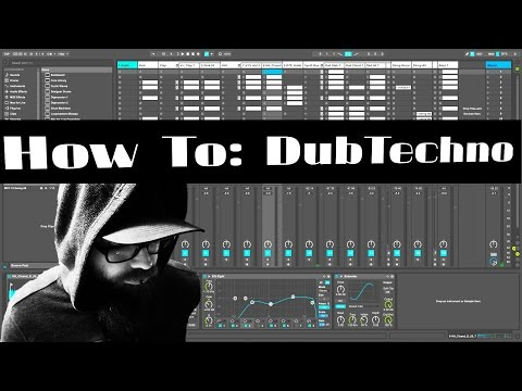 How To Make A Dub Techno Chord Ableton Live Analog
