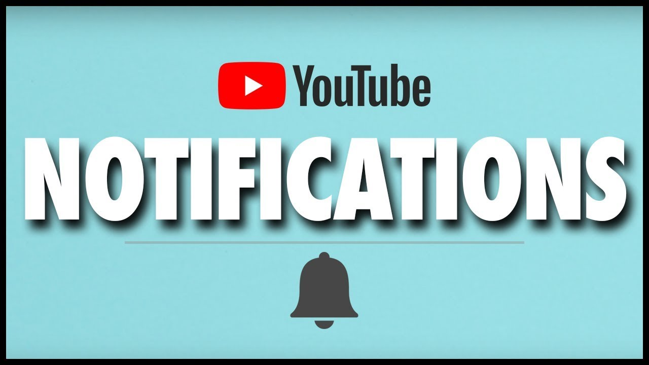 how to turn on computer youtube notifications