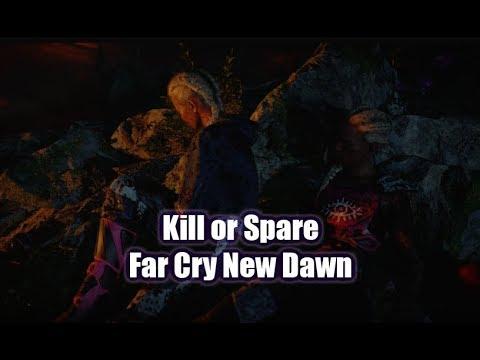 Far Cry New Dawn - Spare Or Kill Mickey All Outcomes