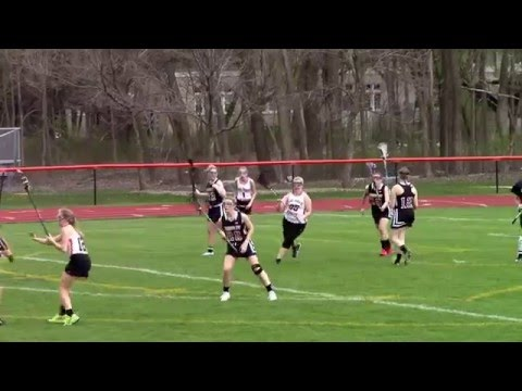 HHS Red Raiders Girls Varsity Lax @ Lake Forest Academy Game Highlights