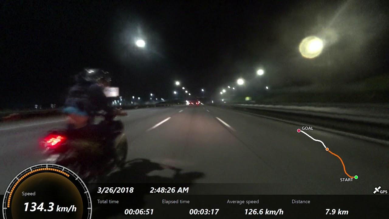Y15ZR 65mm & 135 LC by REDSPEED MOTORSPORT GPS SPEED