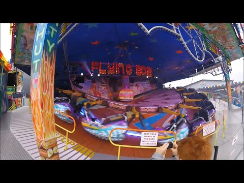 Coney Beach Funfair Vlog (Porthcawl Wales)  - August 2017