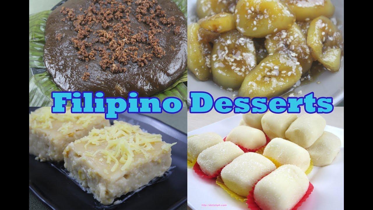 FILIPINO DESSERTS