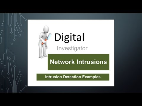Digital Investigator: Intrusion Detection Examples