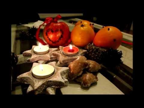 Imbirowe ciasteczkowe świeczniki