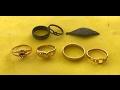 Metal Detecting Sea Hunt, GOLD in scoop, Silver in scoop