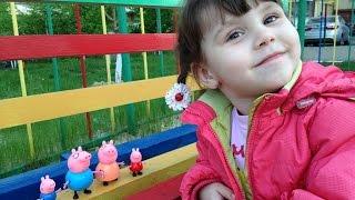 Подарок для Кати - игрушки свинка пеппа и её семья Peppa Pig