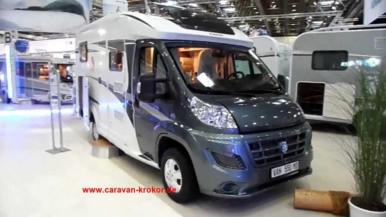 KNAUS Van Ti 8 MD Mod. 8 Wohnmobil Reisemobil unter 8m Meter test