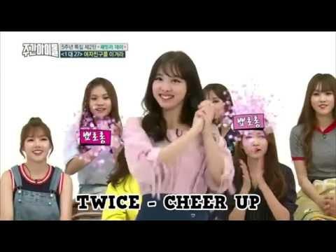 TWICE vs GFRIEND vs GOT7 vs BTOB - 2X Faster Version  (weekly idol)