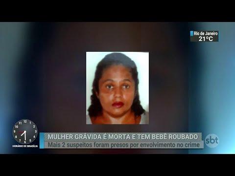 Suspeitos de participação em morte de mulher grávida são presos | SBT Brasil (17/07/18)