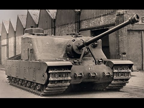 British Monster Tanks of World War I & World War II