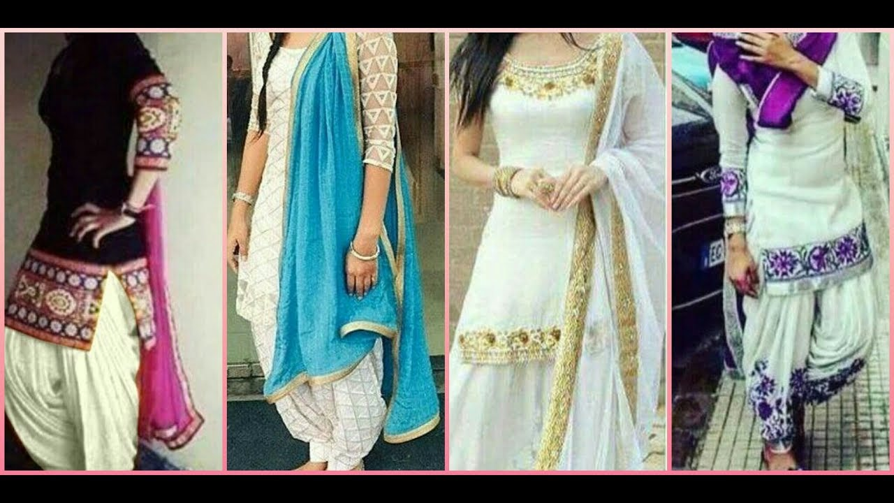 latest beautiful punjabi suits \\2017 for girls \\womens best ideas ...