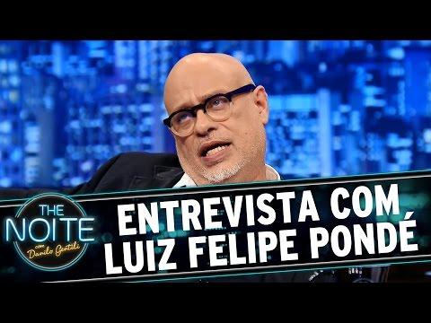 The Noite (01/03/16) - Entrevista Com Luiz Felipe Pondé