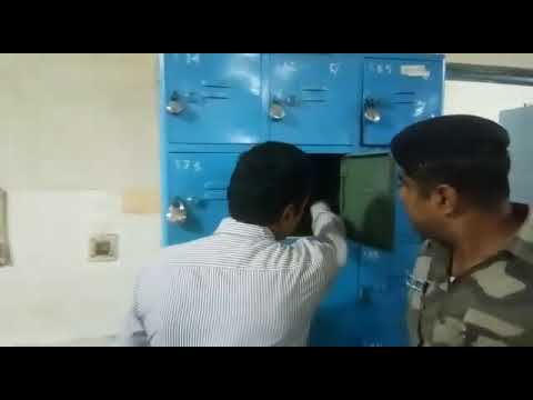 MP , Deputy control officer daily carried bundles of currency to h