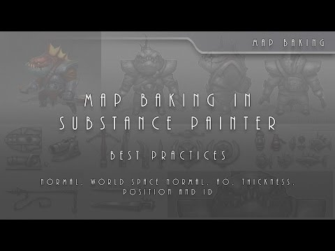 SP 01 Map Baking In Substance Painter