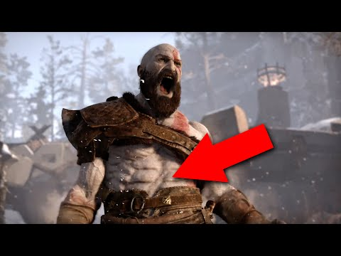 God of War E3 2016 ANALYSIS - God of War 4