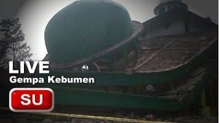 Video Detik Detik Gempa Kebumen Jogja 6.5 SR 25 Januari 2014