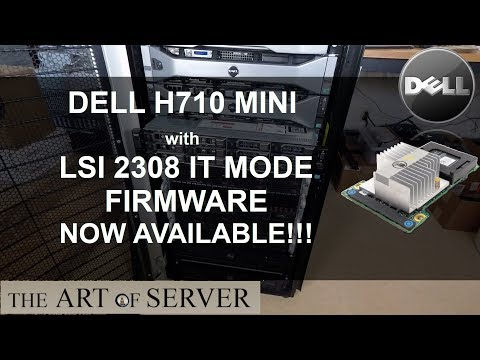 JBOD adventures with Dell PERC H710P Mini (LSI 2208
