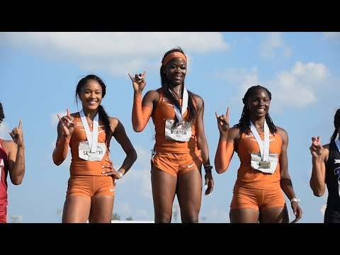 Texas Track & Field Big 12 Outdoor Championships Day 3 [May 13, 2018]