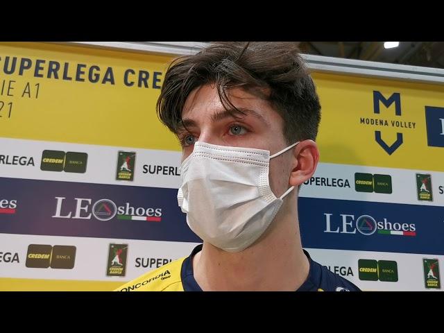 Tommy Rinaldi commenta la vittoria con Verona