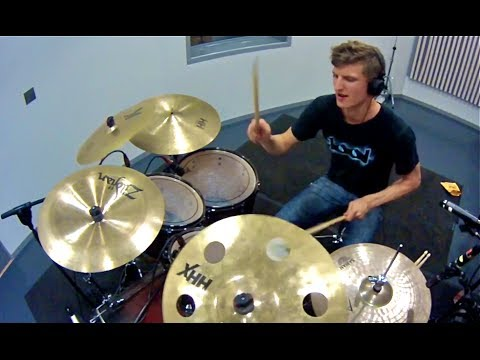Asking Alexandria - Break Down The Walls drum cover, Theo Myling