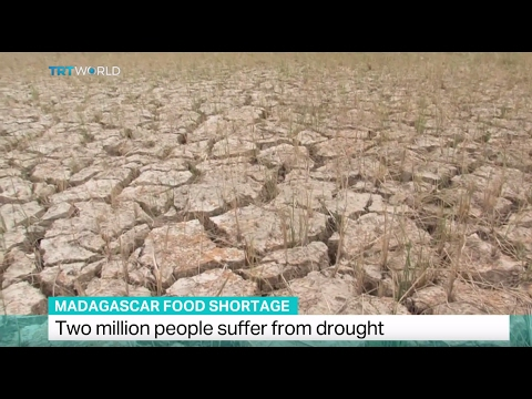 Madagascar Food Shortage: Two million people suffer from drought