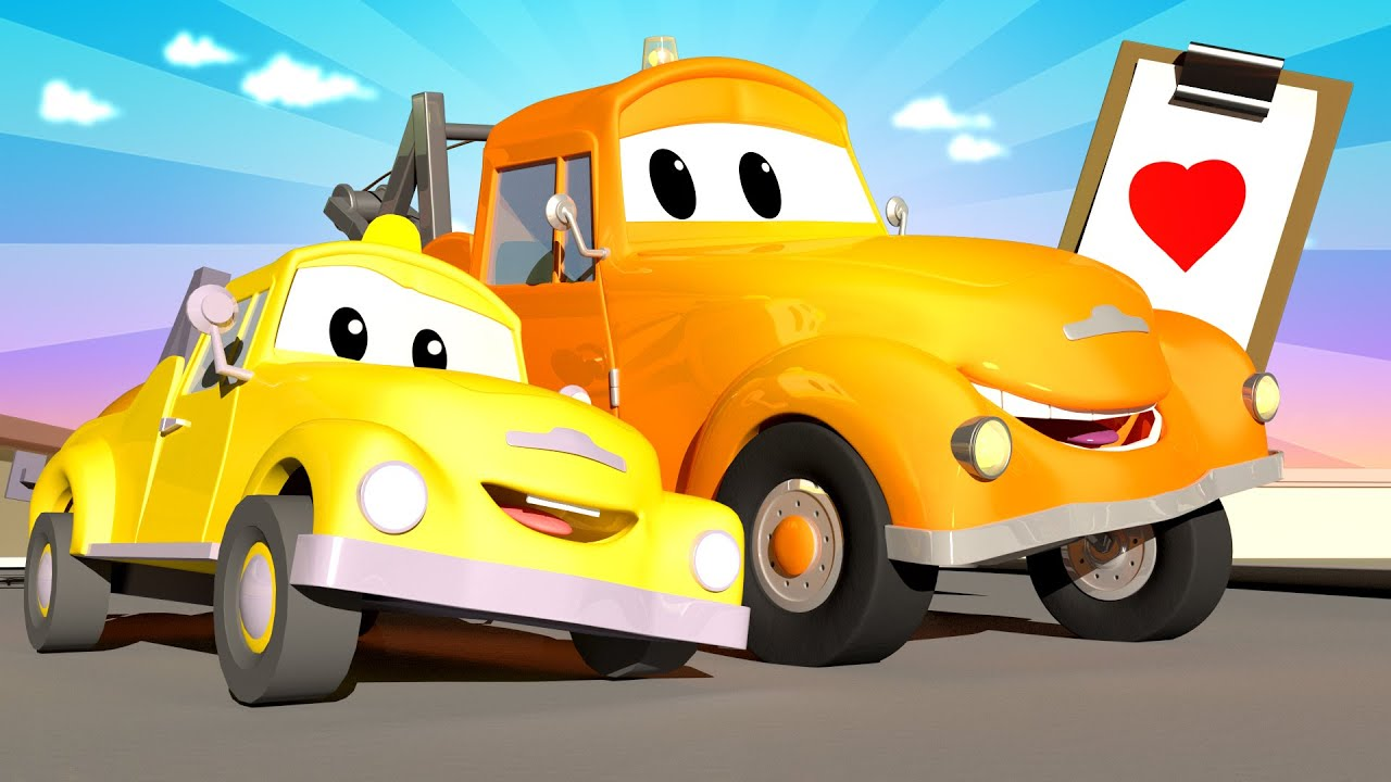 Xe tải kéo Tom - Ngày của cha đặc biệt - Món quà ngày của cha - Thành phố xe